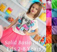 Solid Color Basic Tutu