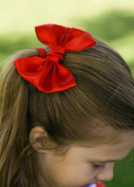 Satin Hair Bow