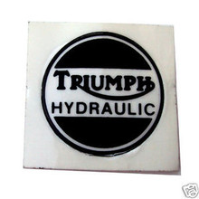 Brake Caliper Cover Decal, Triumph Motorcycles, 60-4156