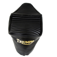 Seat Cover, Black, 1968 - 1970 Triumph TR25W Motorcycles, 82-9504, 82-9472, 82-9742, T210