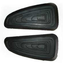 Gas Tank Knee Pad Set, European Style, Triumph, 83-4355, 83-4556