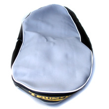 Seat Cover, Black or Grey Top, 1960-1963 Triumph 500, 1960-1962 Triumph 650 Motorcycles, 82-4244, 82-4244A, 82-4244B, T202