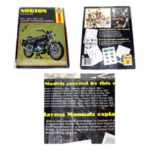 Haynes Owners Workshop Manual, 1968-1977 Norton Commando, 751cc, 828cc Motorcycles, 18-600