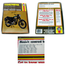 Haynes Owners Workshop Manual, Triumph 350 & 500 Unit Twins Motorcycles, 18-200