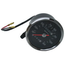 Speedometer, Smiths Replica, 150MPH, 1970-1978 Triumph Motorcycles, 60-1930, Emgo 58-43634