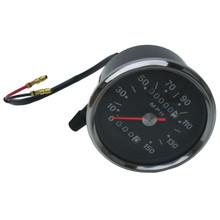 Speedometer, Smiths Replica, 150MPH, 1970-1978 Triumph Motorcycles, 60-1930, Emgo 58-43634
