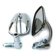 Mirror Set, Bar End, Chrome, 7/8 Inch Handle Bar, BSA, Norton, Triumph, Emgo 20-34000