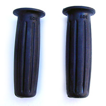 Grip Set, Amal Type 366, Black, 1963-1967 Triumph BSA