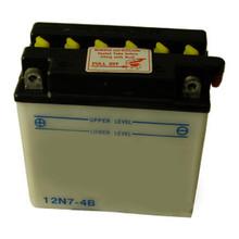 Battery, 12 volt, BSA, Norton, Triumph Motorcycles, 12N7-4B