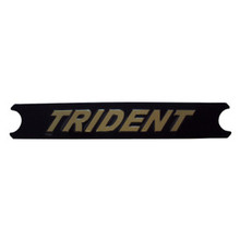 Motif, Trident, Black/Gold, Triumph Trident Motorcycles, 60-4569