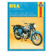 Haynes Owners Workshop Manual, 1947-1962 BSA A7 and A10 Motorcycle, 18-700