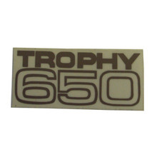Sticker/Decal, Trophy 650, Small, Triumph Motorcycles, 60-2027