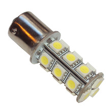 Turn Signal Lamp LED Bulb, 12volt, Positive Ground, BSA, Norton, Triumph Motorcycles, 382LED, LLB382LEDPG, 2860-1156PW