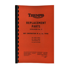 Triumph Parts Books for years1960-1972 Triumph 650cc Models 18-650/