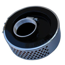 Air Filter, Off Set Mounting Hole, BSA, Norton, Triumph Motorcycles, 82-6432, 83-1537, Emgo 12-94204