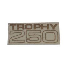 Decal, Trophy 250, Fuel Tank, Triumph Motorcycles, 82-9479D