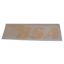 BSA Sticker, Yellow, BSA Motorcycles, 24-BSAY