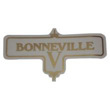 Bonneville V Transfer Decal, Triumph Motorcycles, 60-3950