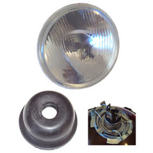 7 in. Headlight, H-4 Halogen, 54517100, 54525927, 99-1156, 99-1249, 516798
