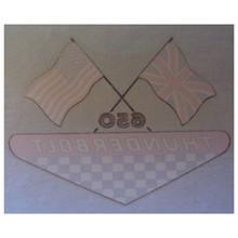 Decal, Thunderbolt 650, BSA Motorcycles, 60-2375