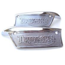 Tank Badge Set, 1969-78 Triumph, 82-9700, 82-9701, 83-1340, 83-1341