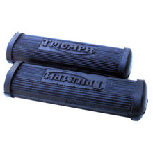 Foot Rest Rubber Set, with Logo, Triumph Motorcycles, 82-1695, Emgo 54-05477