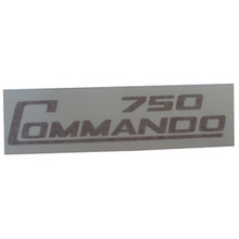 750 Commando Decal, Gold Color, Norton Motorcycles, 062019