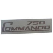 750 Commando Decal, Gold Color, Norton Motorcycles, 062019
