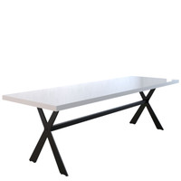 HUDSON 8 Seater Dining Table 240cm