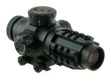 3x25 30mm QR-TS BDC .223 Scope Illuminated CQB reticule