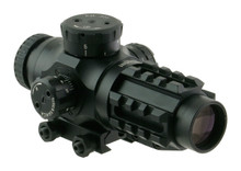 3x25 30mm QR-TS BDC .223 Scope Illuminated CQB reticule