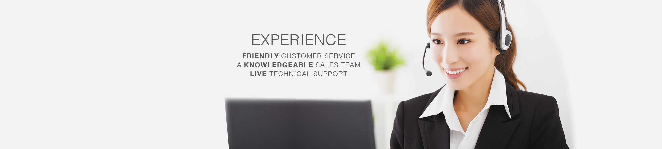 With Nobelus you experience friendly customer service, a knowledgeable sales team and live technical support.