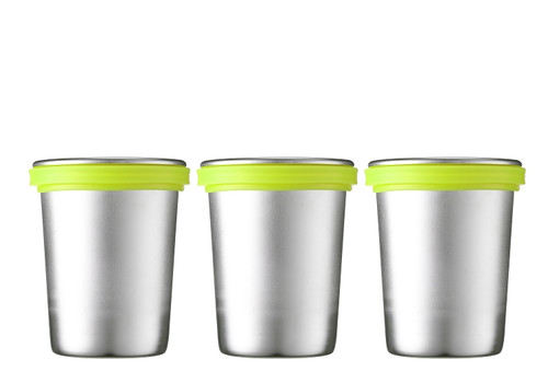 Sippin' SMART??Stainless Tumbler 3 Pack