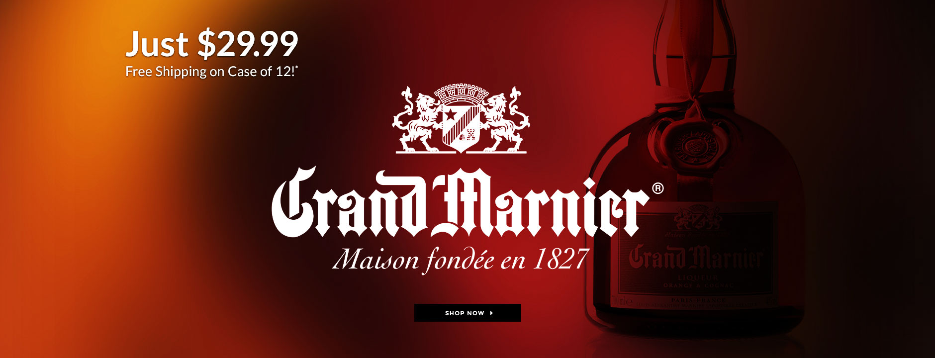 Grand Marnier Just 29.99 Free Shipping
