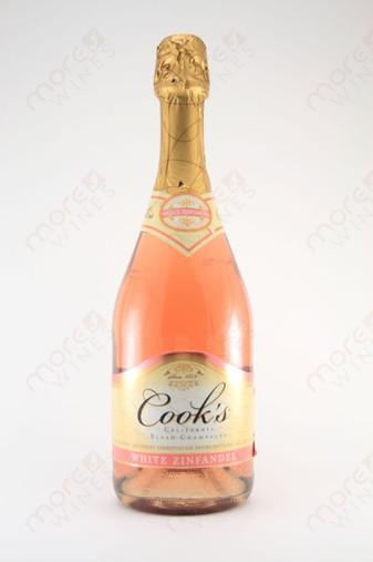 cook 39 s blush champagne white zinfandel 750ml morewines