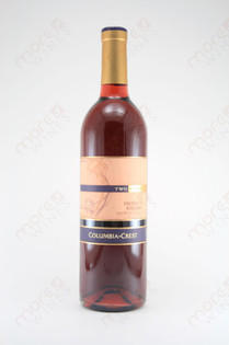Two Vines Columbia Crest Vineyard 10 Rose Wine 750ml