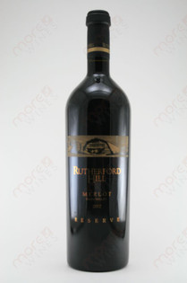 Rutherford Hill Napa Valley Reserve Merlot 2002 750ml