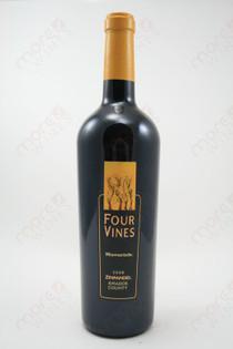 Four Vines Maverick Amador County Zinfandel 2008 750ml