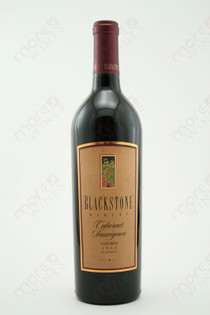Blackstone Winery Cabernet Sauvignon 2005 750ml