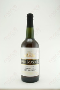 Paul Masson Medium Dry Sherry 750ml