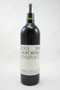Ridge Geyserville Sonoma Red Wine 2004 750ml
