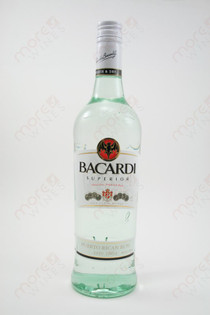 Bacardi Superior Light Rum 750ml