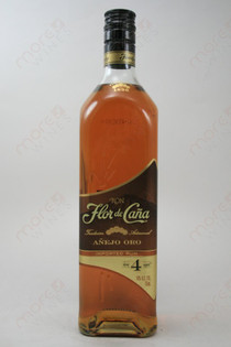 Flor de Cana 4 Year Old Rum 750ml