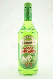 Du Bouchett Sassy Sour Apple Sour Schnapps 1L