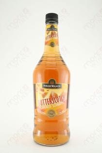 Hiram Walker Butterscotch Schnapps 1L