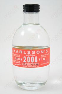 Karlsson's 2008 Batch Vodka 750ml