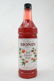 Monin Red Passion Fruit Concentrate 750ml