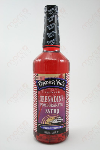 Trader Vic's Grenadine Pomegranate Syrup 1L - MoreWines