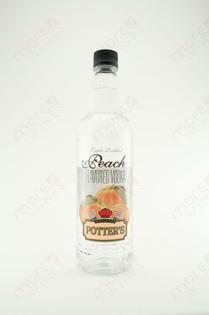 Potter's Peach Vodka 750ml
