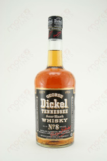 George Dickel Tennessee No. 8 Sour Mash Whiskey 750ml